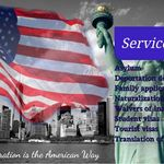 Immigration Lawyer and Translation Services profile image.
