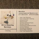 M & J Cleaning Services profile image.