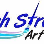 Brush Strokes Art Studio profile image.