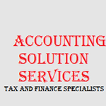 Accounting Solution Services profile image.