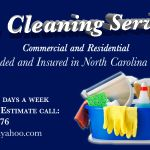 JG Cleaning service profile image.