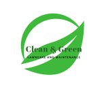 Clean & Green Lawncare and Maintenance profile image.