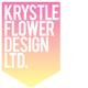 Krystle flower design logo