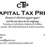 Capital Tax Prep profile image.