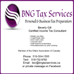 BNG Tax Services profile image.