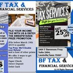 Tax Preparation and Financial Planning profile image.