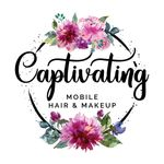 Captivating Mobile Hair and Makeup profile image.