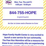 Hope Family Health Center profile image.