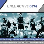 Once Active Gym profile image.