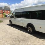 Price is £220 returnThat's the new 16 seater minibus profile image.