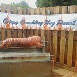 Farmhouse cateting T/A Crispy Crackling Hog Roast profile image.