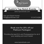 Austin's Top Notch Entertainment profile image.