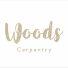 Woods carpentry logo