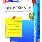 SysInspire NSF to PST Converter profile image.