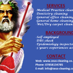 Zeus-cleaning (Self-employed) profile image.