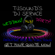 TJSounds DJ Service logo