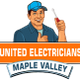 United Electricians Maple Valley logo
