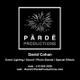 Pärdē Productions - Event Lighting | Sound | Photo Booths logo