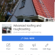 Advanced roofing and roughcasting logo