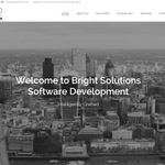 Bright Solutions Software Development profile image.