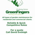 Greenfingers garden services profile image.