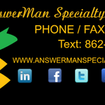 info@answermanspecialtyservicesllc.com profile image.