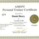 Daniel Beery CPT profile image.