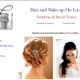 Wedding and Event Hair & Make-Up  On-Location logo