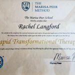 Rachel Langford Hypnotherapist & Mind Coach profile image.