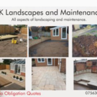 Bk landsacapes and maintenance logo