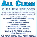 All Clean Cleaning Services profile image.