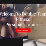 Double Team Fitness profile image.