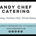 Andy Chef Catering logo