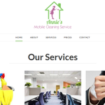 Annie's Mobile Cleaning Service Ltd profile image.