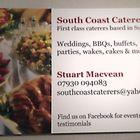 South coast caterers logo