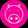 Pink Pig Print profile image