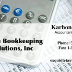 Exquisite Bookkeeping & Tax Solutions, Inc profile image.