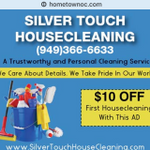 SilverTouch Housecleaning profile image.