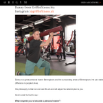 Griffin fitness profile image.