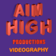 Aim High Productions Videography logo