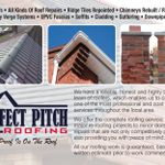 Perfect Pitch Roofing profile image.