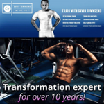 Gavin Townsend Personal Trainer profile image.