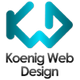 Koenig Web Design logo