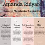 Amanda Ridyard Saturday Counselling profile image.