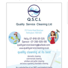 Quality Service Cleaning Ltd logo