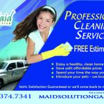 Maid Solution Cleaning Services profile image.