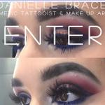 Danielle Brace London & Essex Make-up Artist profile image.