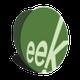Eek! design logo