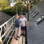 Active roofing and building services profile image.
