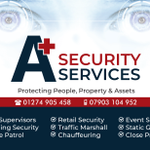 A+ Security Services profile image.